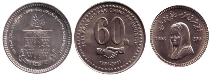 Набор из 3 монет. Пакистан. 2008-2011 гг.471305Набор из 3 монет. Пакистан. 2008-2011 гг. Состояние: очень хорошее. Диаметр: 27-30 мм. Материал: Медно-никелевый сплав.