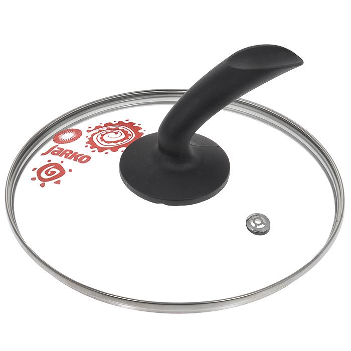 Крышка стеклянная Jarko Lux. Диаметр 22 смКС*GTL22110 LUXКрышка Jarko Lux, изготовленная из термостойкого стекла, позволяет контролировать процесс приготовления без потери тепла. Ободок из нержавеющей стали предотвращает сколы на стекле. Крышка оснащена отверстием для паровыпуска. Эргономичная ручка выполнена из бакелита. Характеристики: Материал: стекло, нержавеющая сталь, бакелит. Диаметр крышки: 22 см.
