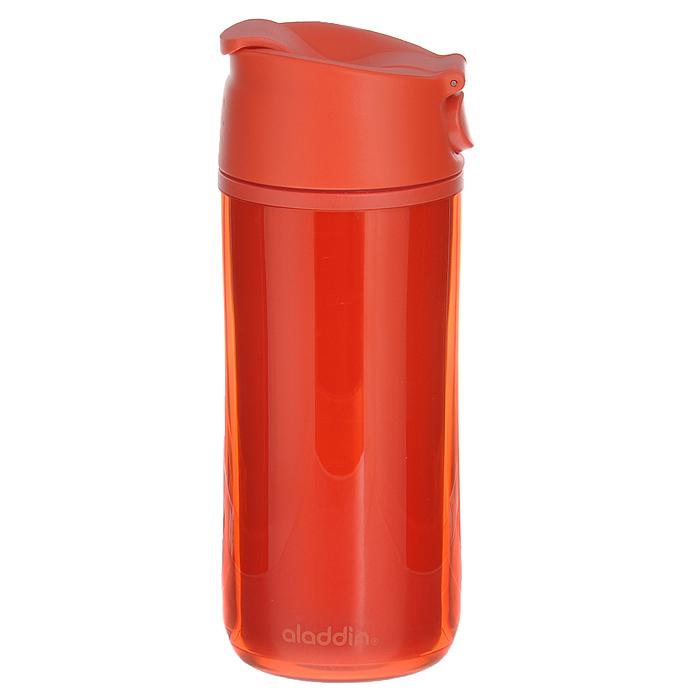 Бутылка Aladdin F&S, цвет: красный, 0,35 л10-01503-009Герметичная бутылка Aladdin F&S изготовлена из пластмассы, двустенная изоляция коллекции FLIP & SIP, удобна для эксплуатации в автомобиле, так как позволяет одной рукой открывать, закрывать и пить, не отвлекаясь от дороги. Отлично подойдет для занятий спортом.