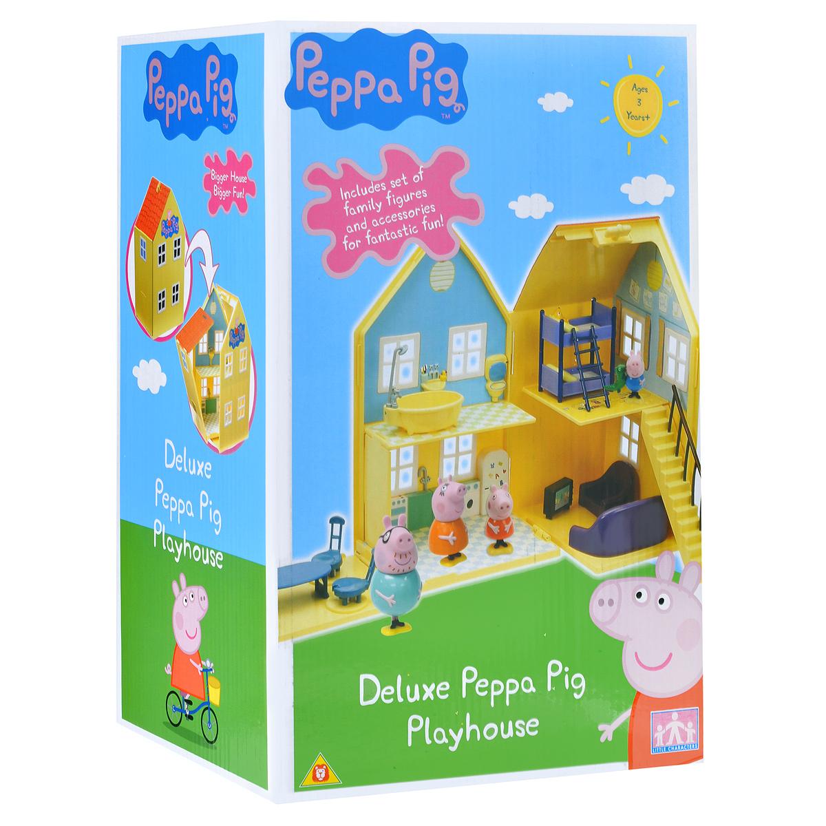 Zakazat.ru Игровой набор Peppa Pig Загородный дом Пеппы