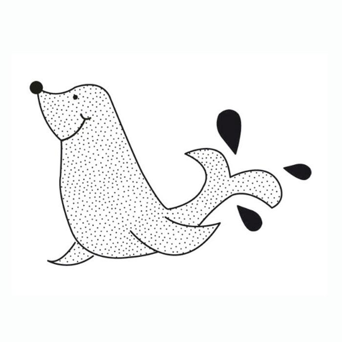 Силиконовый штамп Kaisercraft Морской котик, 7 см х 5 смCS960Прозрачный силиконовый штамп для скрапбукинга. Для работы со штампом необходим акриловый блок и чернильная подушечка. Штампом можно украсить работу или сделать его главным объектом украшения. Штамп дает красивый, узорчатый рисунок, без усилий со стороны.