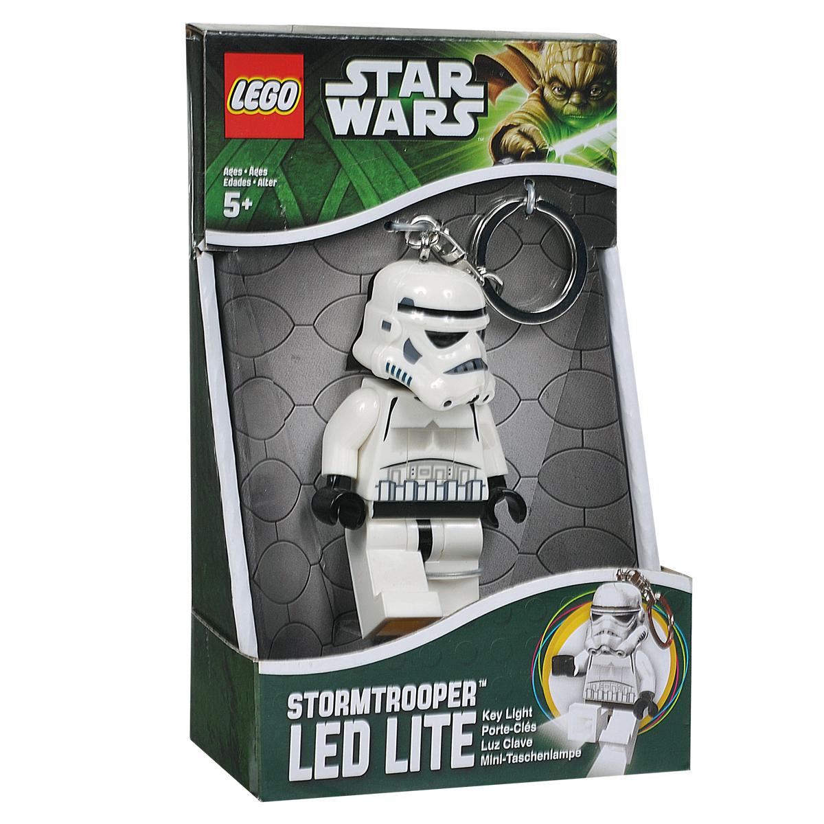 Брелок-фонарик для ключей Lego