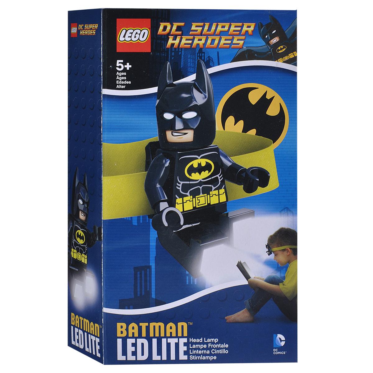 Налобный фонарик Lego