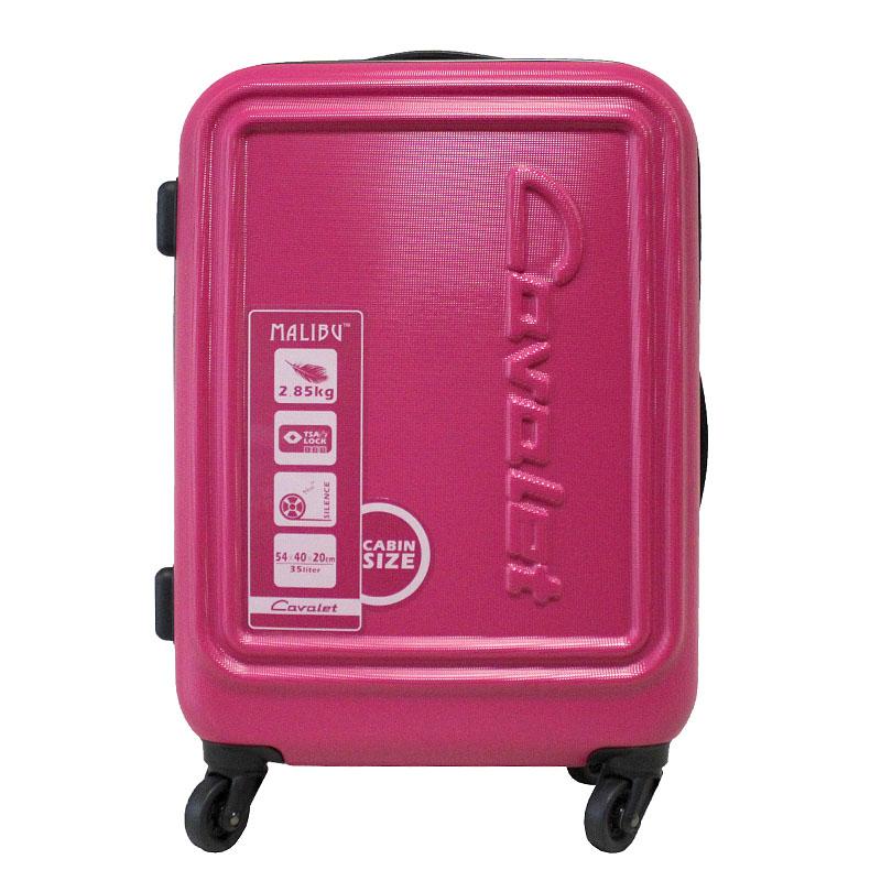 Чемодан-тележка Cavalet, 35 л, 858-50, розовый858-50 pinkЯркий чемодан-тележка Cavalet на четырех колесах идеально подходит для поездок и путешествий. Корпус имеет жесткую конструкцию и выполнен из ударопрочного пластика. Чемодан имеет одно вместительное отделение для хранения одежды и аксессуаров, с возможностью увеличения объема. Отделение закрывается на двойную застежку-молнию и имеет встроенный кодовый замок с функцией TSA. Внутри - разделитель на молнии, сетчатый карман на молнии и кармашек для мелочей на молнии, выполненный из прозрачного ПВХ. Также в отделении предусмотрены багажные ремни для фиксации. Внутренняя поверхность изделия отделана полиэстером. В верхней части чемодана предусмотрена ручка для переноски. На одной из боковых сторон - пластиковые ножки, на другой - дополнительная ручка для переноски. Чемодан оснащен удобной телескопической ручкой, которая выдвигается нажатием на кнопку. Стильный и удобный чемодан-тележка Cavalet вместит все необходимые вещи и станет незаменимым аксессуаром во время...