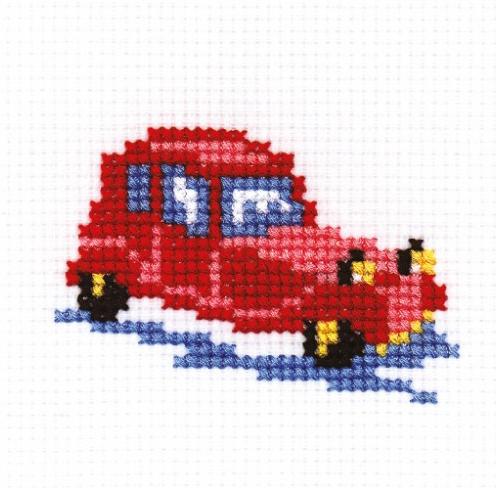 Набор для вышивания РС Студия Машина, 5 см х 7 см544863