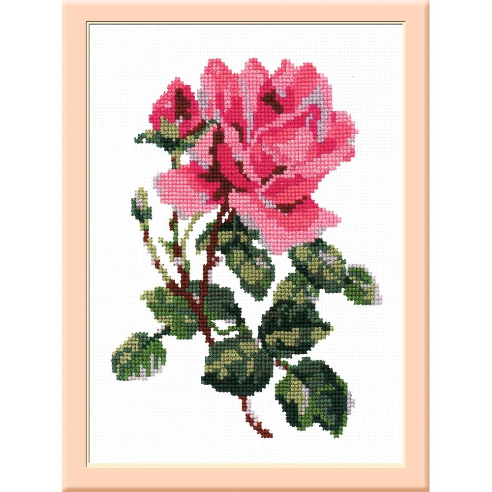 Набор для вышивания крестом РС-Студия Роза, 20 х 14 см С031642031
