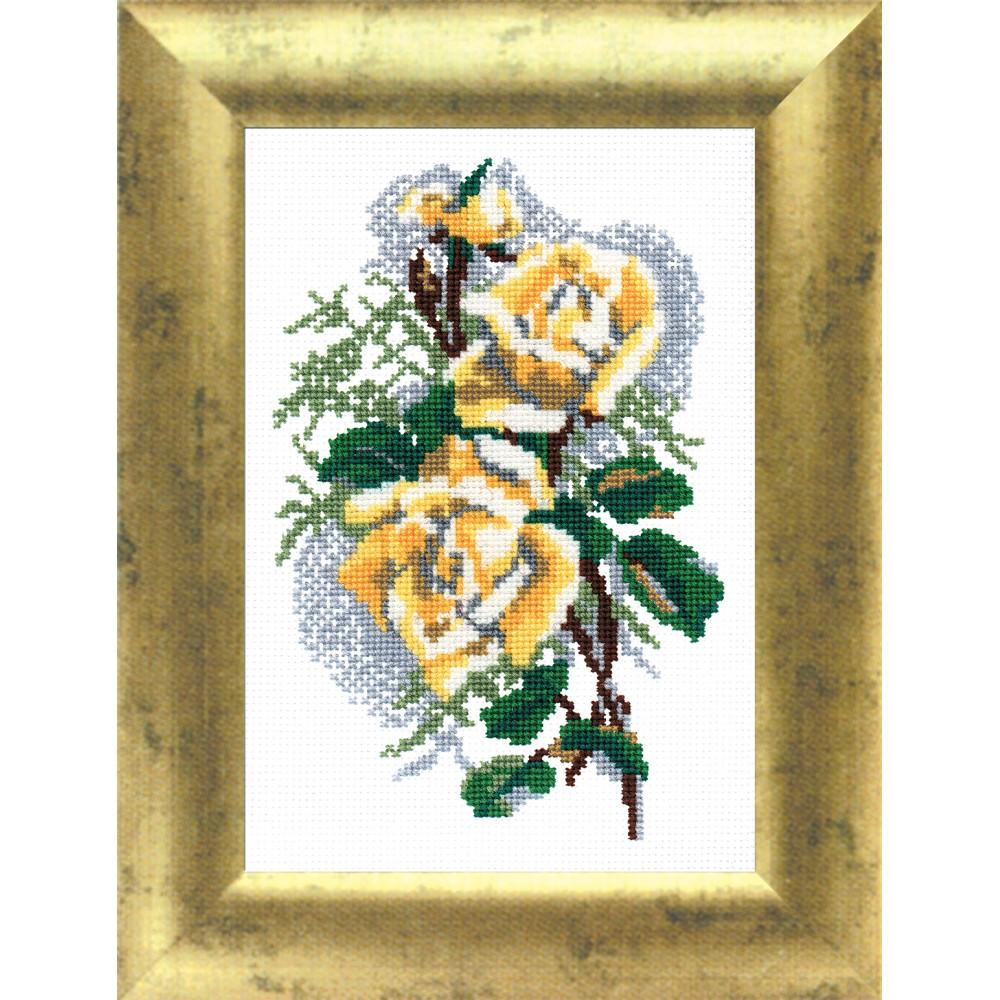 Набор для вышивания Роза, 22 см х 14 см. 642032642032
