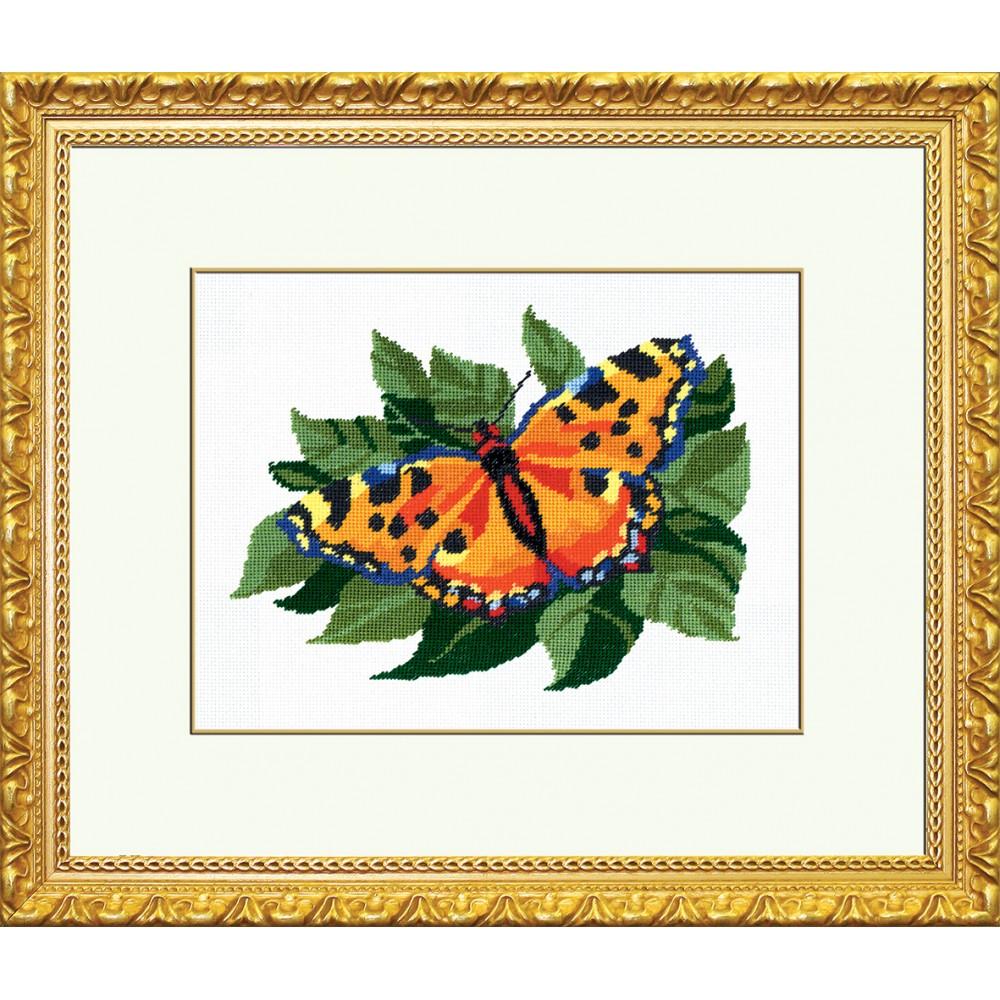 Набор для вышивания Бабочка, 18 см х 22 см. 642014642036