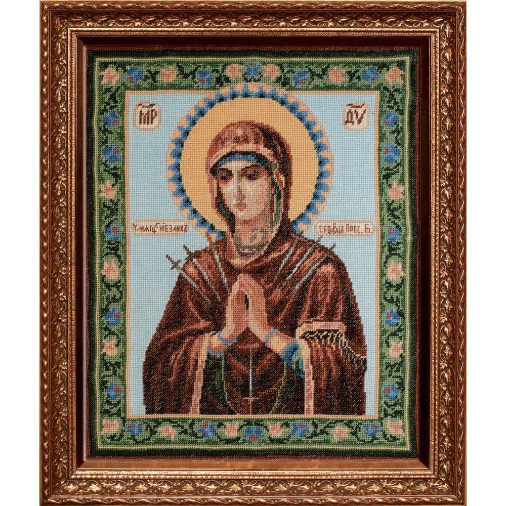 Набор для вышивания крестом Умягчение злых сердец, 34 см х 28 см. 642419642419