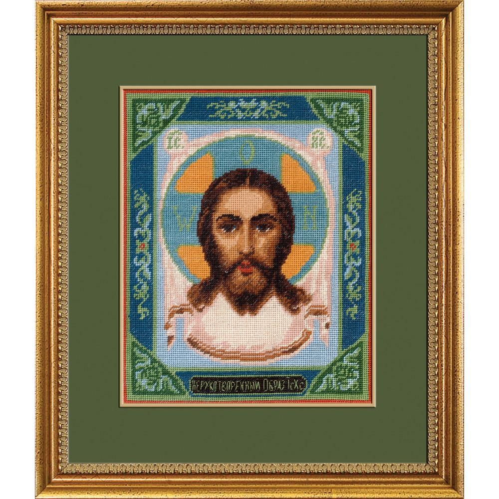 Набор для вышивания крестом Спас Нерукотворный, 24 х 20 см 642423642423