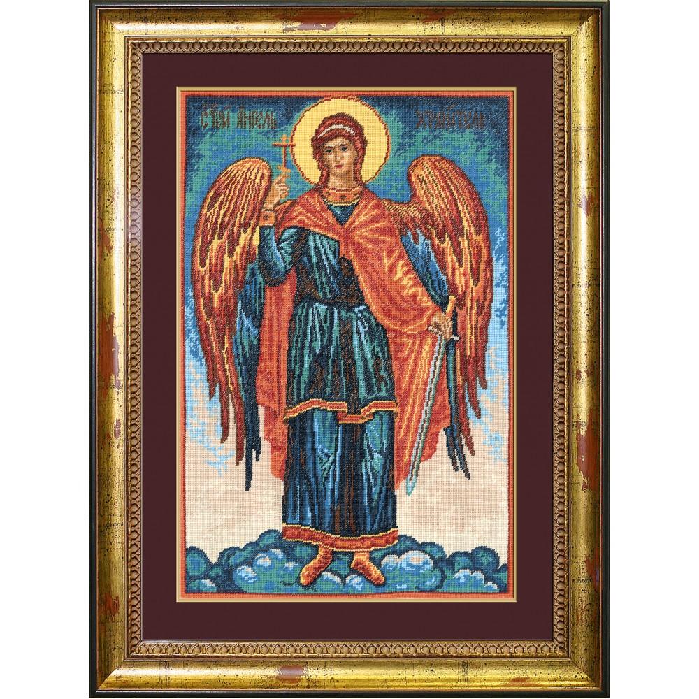 Набор для вышивания крестом Ангел Хранитель, 30 х 45 см642430