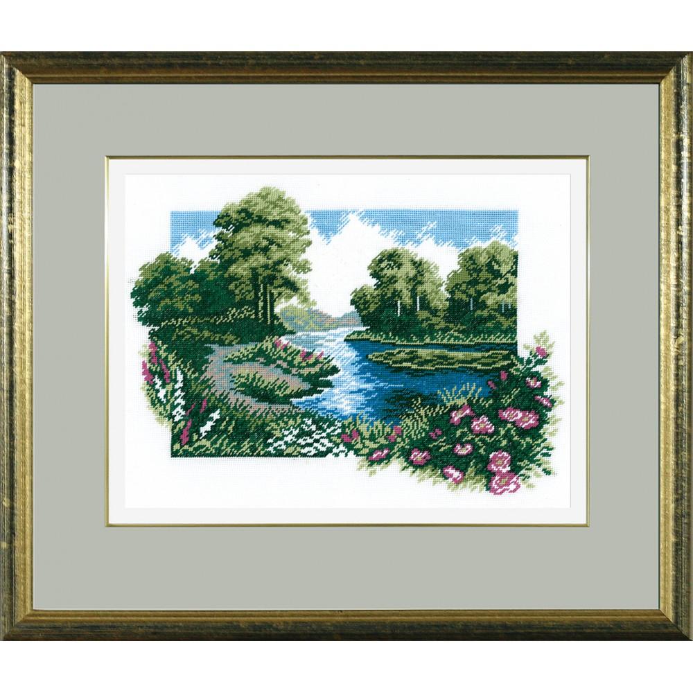 Набор для вышивания РС Студия Летний пейзаж, 34 х 24 см642437