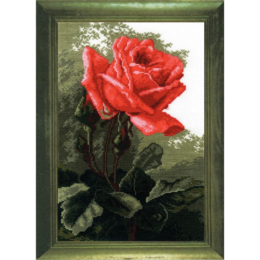 Набор для вышивания РС Студия Роза розовая, 20 х 30 см642473