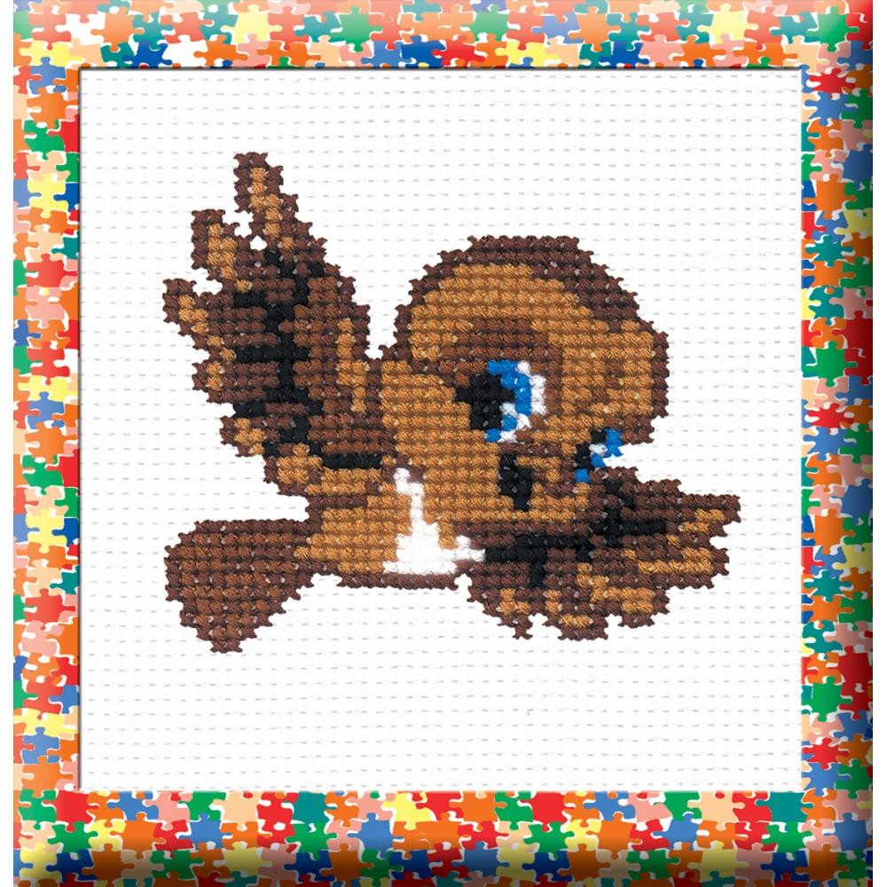 Набор для вышивания крестом Воробей, 9 см х 8 см. 642656642656Набор для вышивания Воробей поможет вам создать свой личный шедевр - красивую картину, вышитую крестом в технике простой крест. Работа, выполненная своими руками, станет отличным подарком для друзей и близких! Набор содержит: - голубая канва Aida 11 (хлопок), - нитки мулине - 6 цветов (хлопок), - игла, - схема для вышивания, - инструкция на русском языке.
