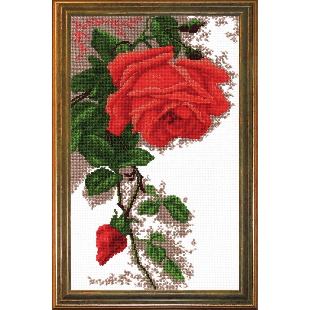 Набор для вышивания Роза, 19 х 30 см642677