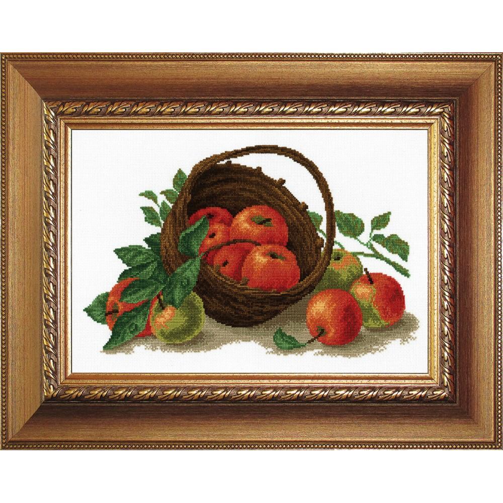 Набор для вышивания РС Студия Натюрморт с яблоками, 39 х 25 см694502