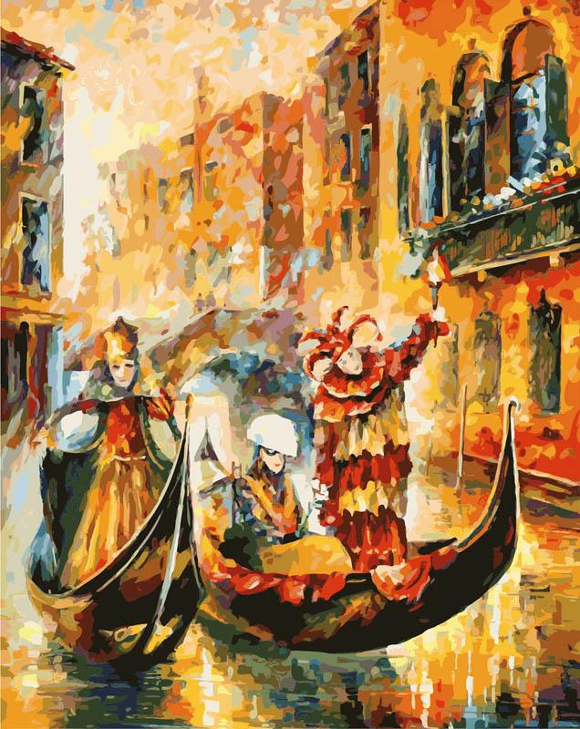 Живопись на холсте Венецианская гондола, 40 х 50 см874-AB Венецианская гондолаЖивопись на холсте Венецианская гондола - это набор для раскрашивания по номерам акриловыми красками на холсте. В набор входят: - холст на подрамнике с нанесенным рисунком, - контрольный лист с нанесенным рисунком, - набор акриловых красок, - кисти, - крепление для готовой картины, - инструкция. Каждая краска имеет свой номер, соответствующий номеру на картинке. Нужно только аккуратно нанести необходимую краску на отмеченный для нее участок. Таким образом, шаг за шагом у вас получится великолепная картина. С помощью серии наборов Живопись на холсте вы можете стать настоящим художником и создателем прекрасных картин. Вы получите истинное удовольствие от погружения в процесс творчества и созданные своими руками картины украсят интерьер вашего дома или станут прекрасным подарком. Техника раскрашивания на холсте по номерам дает возможность легко рисовать даже сложные сюжеты. Прекрасно развивает художественный вкус, аккуратность и...