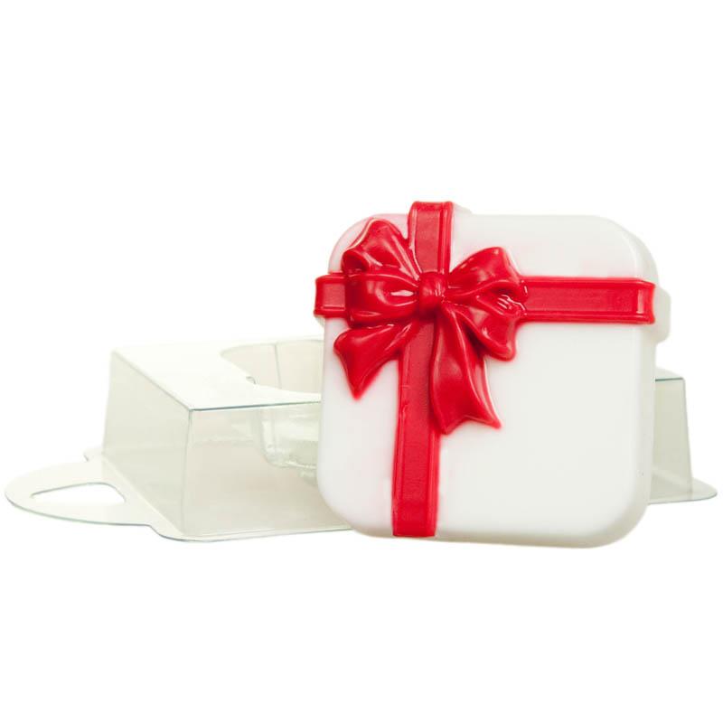 Форма пластиковая профессиональная Коробка с подарками, 16 х 11 х 2,5 см2700770022896Пластиковая форма для мыла позволяет изготовить оригинальное и красивое мыло ручной работы. Она выдерживает температуру не более 70°С. Из пластиковых форм мыло вынуть не так сложно, как кажется на первый взгляд! Просто дайте мылу до конца высохнуть и аккуратно прижмите форму по бокам, а потом надавите сверху формы, чтобы воздух прошел в нее! Если у Вас не получается все же вынуть свое мыльце, то положите формочку с мылом в морозилку минут на 5, а потом подставьте формочку под горячую воду - мыло сразу выскочит!