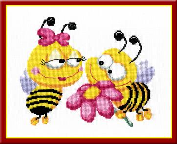 Набор для вышивания Пчелки, 24 см х 20 см562216