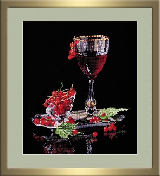 Набор для вышивания крестом Красная смородина, 26 см х 29 см684398Набор для вышивания крестом Красная смородина поможет создать красивую вышитую картину. Рисунок- вышивка, выполненный на канве, выглядит стильно и модно. Вышивание отвлечет вас от повседневных забот и превратится в увлекательное занятие! Работа, сделанная своими руками, не только украсит интерьер дома, придав ему уют и оригинальность, но и будет отличным подарком для друзей и близких! Набор для вышивания содержит все необходимые материалы для вышивки на канве в технике счетный крест. В состав набора входит: - канва №14 черного цвета (100% хлопок), - нитки-мулине х/б (23 цвета), - игла, - символьная схема, - подробная инструкция на русском языке. Уважаемые клиенты! Обращаем ваше внимание на то, что рамка в комплект не входит, а служит для визуального восприятия товара.