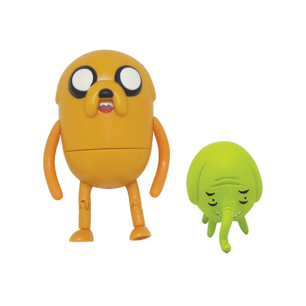 Фигурки Adventure Time Jake & Tree Trunks, 2 шт14343Яркие фигурки Adventure Time Jake & Tree Trunks не оставят равнодушным вашего ребенка и не позволят ему скучать. В комплект входят две фигурки, созданные по мотивам одного из самых популярных мультсериалов Adventure Time (Время Приключений с Финном и Джейком) - пес Джейк и слониха Деревяшка. Джейк - уникальный пес, который может изменять форму и размер своего тела без особых усилий. Деревяшка - словно оберег от злых чар для Джейка. Она очень добрая и печет вкусные пироги. Слониха бережет и заботится о своих родных - все это она делает от чистого сердца и только из благих намерений. Фигурка Джека имеет несколько точек артикуляции, поэтому она может принимать различные положения (подвижны лапки, поворачивается тело). Ваш ребенок будет часами играть с фигурками, придумывая различные истории, а благодаря компактным размерам он сможет брать их с собой на прогулку или в гости.