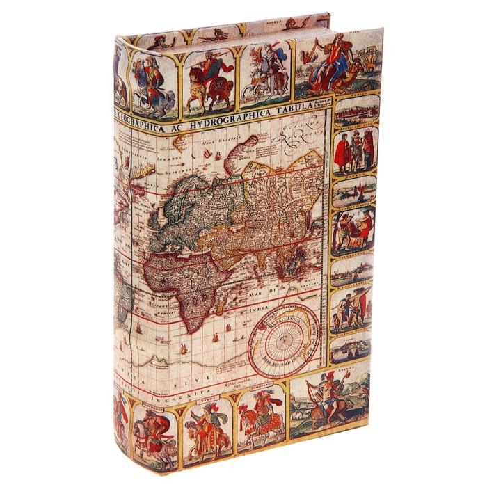 Сейф-книга Карта исследователя, 12,5 х 21 х 4,5 см 680638680638