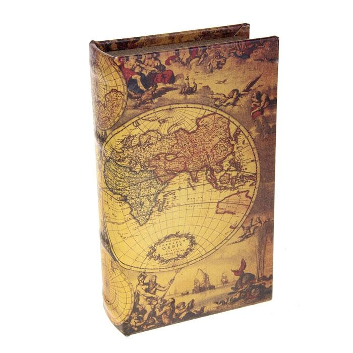 Сейф-книга География, 12,5 х 21 х 4,5 см 680688680688