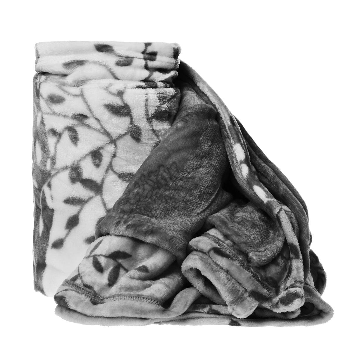 Плед Cleanst, цвет: белый, серый, 200 см х 230 смXthk-GreyПлед Cleanst, выполненный из флиса, послужит теплым, мягким и практичным подарком близким людям. Такой плед легок и не займет много места, что немаловажно в дороге. Благодаря использованию высокотехнологичных материалов этот плед обладает высокой степенью мягкости (бархатный на ощупь) и износоустойчивостью.