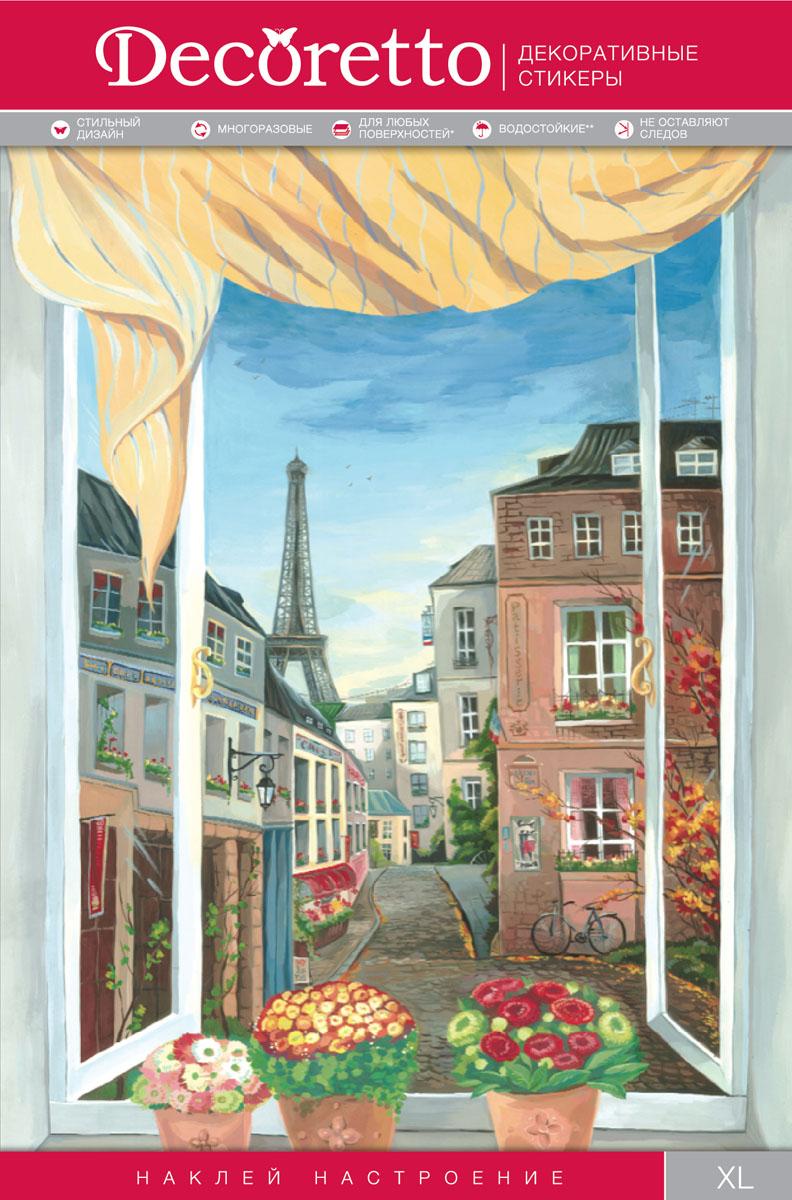 Украшение для стен и предметов интерьера Decoretto Окно в ПарижCH 5001Украшение для стен и предметов интерьера Decoretto Окно в Париж - это удивительно простой и быстрый способ оживить интерьер помещения. Интерьерные наклейки дадут вам вдохновение, которое изменит вашу жизнь и поможет погрузиться в мир ярких красок, фантазий и творчества. Украшение состоит из одного самоклеющегося элемента. Преимущества украшений Decoretto: - изготовлены из экологически безопасной самоклеющейся виниловой пленки с водоотталкивающей поверхностью, абсолютно безопасны для здоровья детей; - быстро и легко наклеиваются на любые ровные поверхности: стены, окна, двери, кафельную плитку, виниловые и флизелиновые обои, стекла, мебель; - при необходимости удобно снимаются, не оставляют следов и не повреждают поверхность (кроме бумажных обоев); - многоразовые - если вы решите изменить композицию, то просто снимите наклейки и наклейте их в другом месте; - специальный слой защищает поверхность от влаги и выгорания. Decoretto...