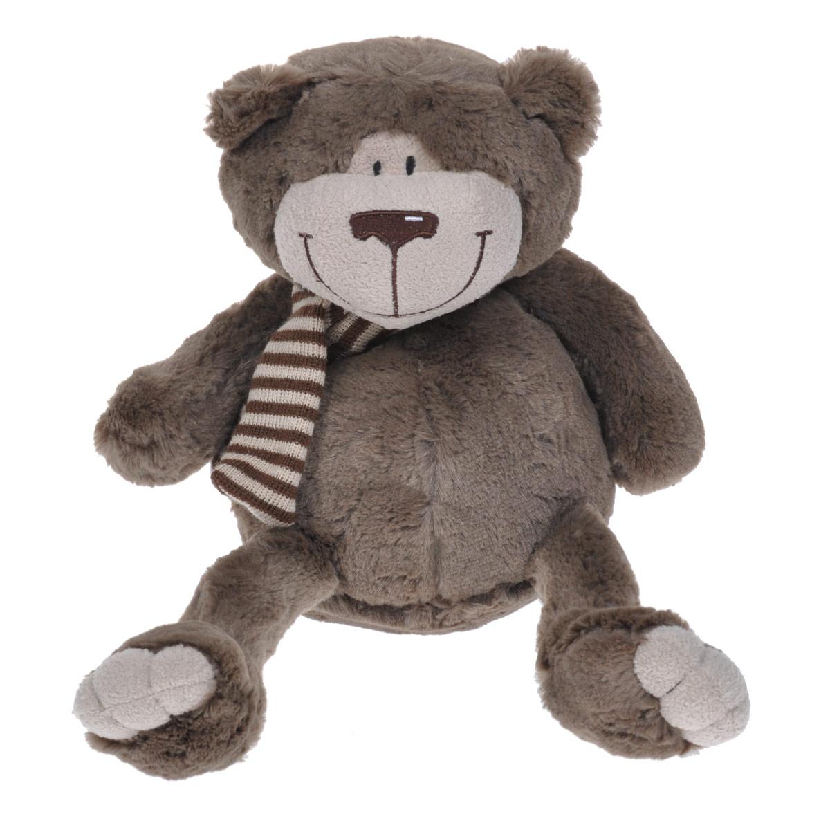 Мягкая игрушка Maxi Toys Мишка Тодди, цвет: коричневый, 25 смMT-MRT031308-25Очаровательная мягкая игрушка Maxi Toys Мишка Тодди вызовет умиление и улыбку у каждого, кто ее увидит. Она выполнена в виде милого коричневого медвежонка с полосатым шарфиком шее. Глазки, носик и ротик вышиты нитками. Удивительно мягкая игрушка принесет радость и подарит своему обладателю мгновения нежных объятий и приятных воспоминаний. Великолепное качество исполнения делают эту игрушку чудесным подарком к любому празднику.