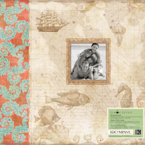 Альбом для скрапбукинга K&Company