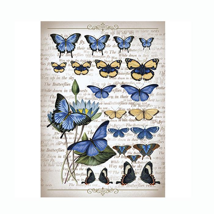 Рисовая бумага для декупажа Craft Premier Коллекция бабочек, A3CP00559