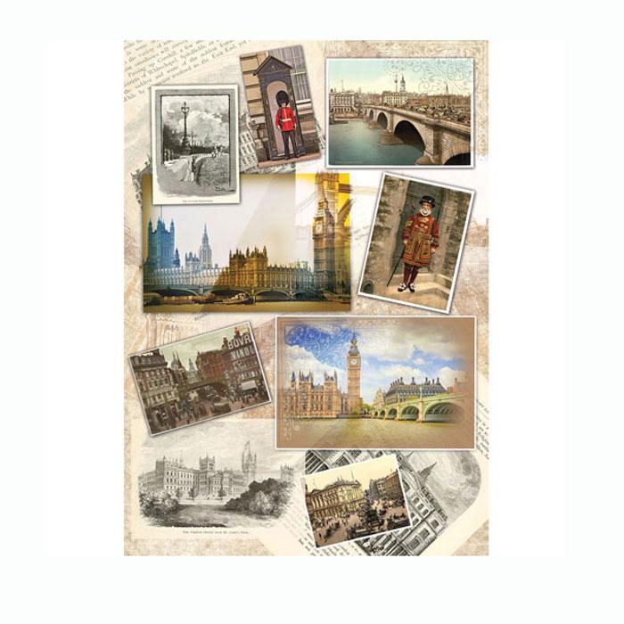 Рисовая бумага для декупажа Craft Premier Лондонский альбом, A3CP01709