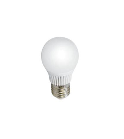 Лампа светодиодная Estares Шарик, теплый белый свет, цоколь Е27, 8W10213Светодиодная лампа Estares Свеча инновационный и экологичный продукт, специально разработанный для эффективной замены любых видов галогенных или обыкновенных ламп накаливания во всех типах осветительных приборов. Не имеет вредных излучений UF и IR