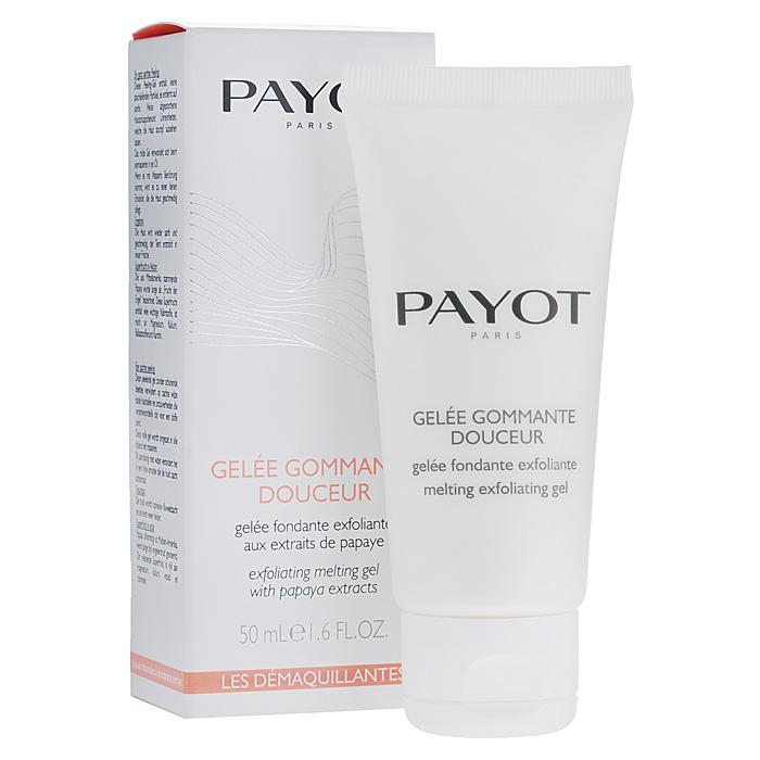 Payot Гель для лица, мягкий, отшелушивающий, 50 мл65074178Гель для лица подходит для всех типов кожи. Гель с экстрактом папайи не содержит абразивных частиц. Обеспечивает наилучший результат, усиливая естественное сияние кожи и возвращая ей идеальную чистоту. Нежный насыщенный гель имеет биологический механизм действия и превращает отшелушивание ороговевших клеток в удивительный ритуал ухода за кожей. Стимулирует нежное и тщательное отшелушивание, подходит даже для чувствительной кожи. Кожа необыкновенно гладкая и бархатистая, ее микрорельеф заметно более ровный. Способ применения : применяется один или два раза в неделю. Гель в процессе массажа превращается в масло, а при контакте с водой - в молочко. Смыть водой.