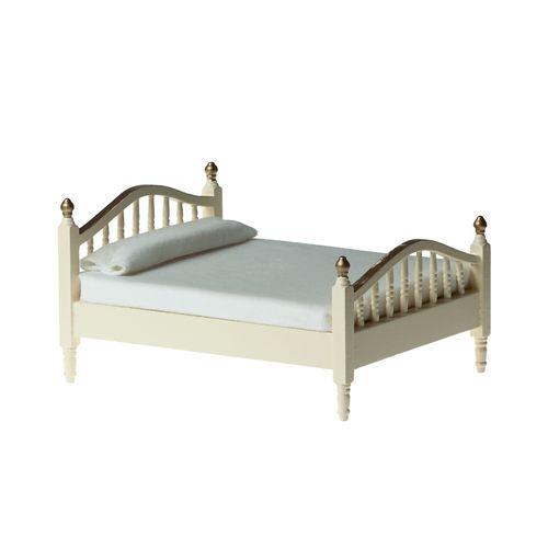 Миниатюра кукольная Art of Mini Кровать, цвет: кремовыйAM0102031