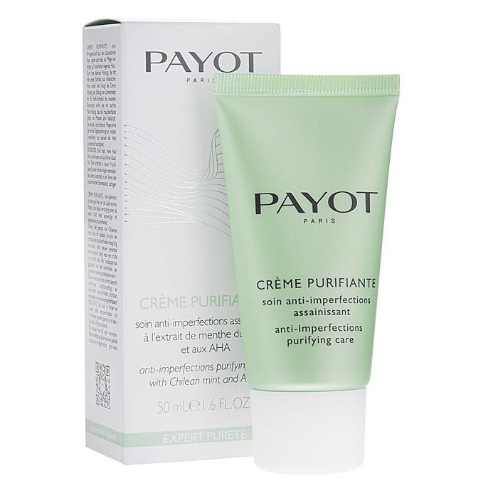 Payot Крем-флюид против высыпаний для лица, регулирующий, для жирной и комбинированной кожи, 50 мл65090397Идеальный повседневный уход для жирной и комбинированной проблемной кожи, склонной к появлению акне. Крем с легкой и нежирной текстурой увлажняет кожу, ограничивает образование излишков кожного сала, заметно уменьшает видимость недостатков. Формула на основе чилийской мяты обогащена комплексом АНА-кислот нового поколения, который обеспечивает мягкий микро-отшелушивающий эффект, разглаживает кожу и способствует исчезновению акне и комедонов. Способ применения : утром и вечером наносите на очищенную кожу лица или Т-зону.