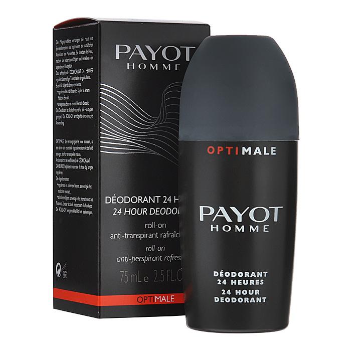 Payot Дезодорант роликовый для тела, мужской, 75 мл