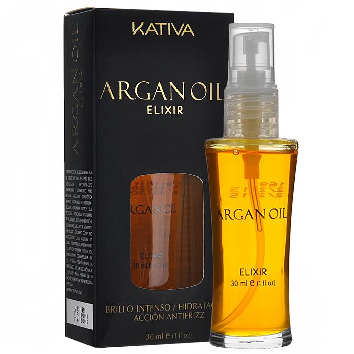 Kativa Масло для волос Argan Oil, защитное, 30 мл65866005Благодаря высокому содержанию витаминов А и Е, а также омега 3 и 9 жирных кислот, эликсир повышает выносливость волос к негативным воздействиям. Аргановое масло интенсивно увлажняет и питает волосы, улучшая их структуру и внешний вид. Способ применения : для интенсивного увлажнения смешайте 5 капель концентрата с 20 гр маски из линии Аргана, полученную смесь нанесите на волосы, оставьте на 5 минут, а затем смойте. Добавьте 5 капель средства в краску или раствор для выпрямления волос и используйте как обычно. Ваши волосы будут надежно защищены! Придайте волосам гладкость шелка - нанесите всего несколько капель масла (в зависимости от длины) на сухие волосы. Для надежной термозащиты нанесите несколько капель продукта непосредственно перед сушкой или выпрямлением при помощи утюжка.