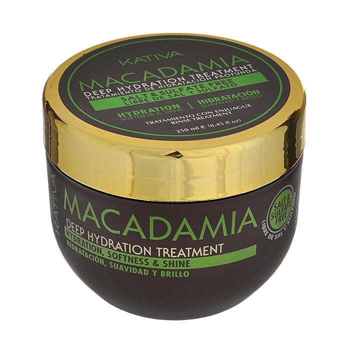 Kativa Уход Macadamia интенсивно увлажняющий, для нормальных и поврежденных волос, 250 мл65807245Маска-уход возвращает волосам природную силу, восстанавливая изнутри их структуру. После использования они становятся послушными, гладкими и сияют здоровьем. Масло макадамии обеспечивает глубокое увлажнение, разглаживает чешуйки волос, предотвращает их ломкость. Способ применения : нанести на чистые влажные волосы по всей длине. Оставить на 10-15 минут для глубокого воздействия, а затем тщательно смыть. Рекомендуется использовать 2 раза в неделю. Товар сертифицирован.