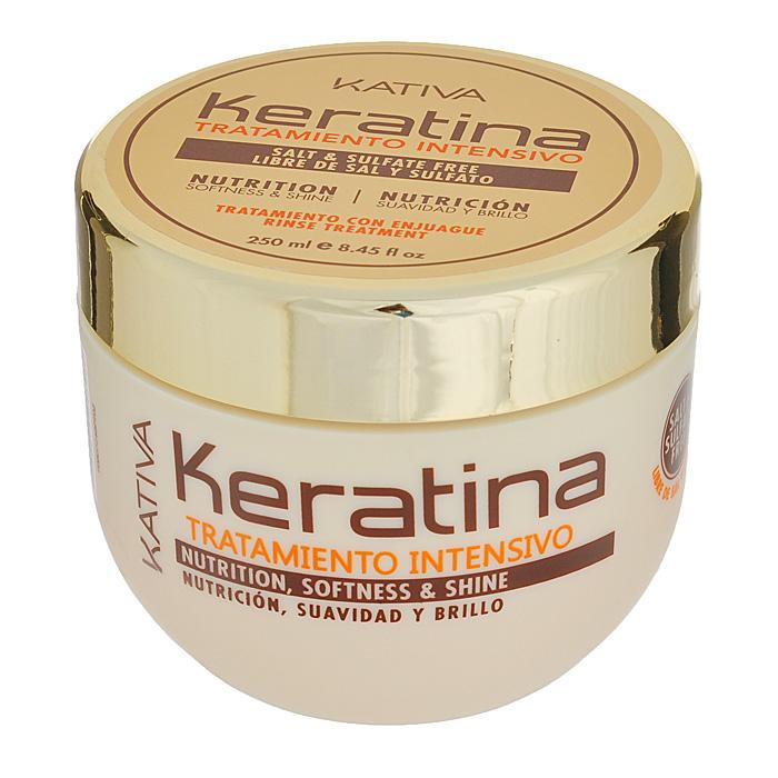 Kativa Уход Keratina для поврежденных и хрупких волос, интенсивно восстанавливающий, 250 мл65807248Восстанавливающее средство для поврежденных и ломких волос великолепно смягчает и разглаживает материю волос. Регулярное использование маски укрепит структуру волос, подарит им здоровый блеск, гладкость и непревзойденное сияние. Глубокое действие маски, которая восстанавливает природные свойства ваших волос. Способ применения : нанести на чистые влажные волосы по всей длине. Оставить на 10-15 минут для глубокого воздействия, а затем тщательно смыть.