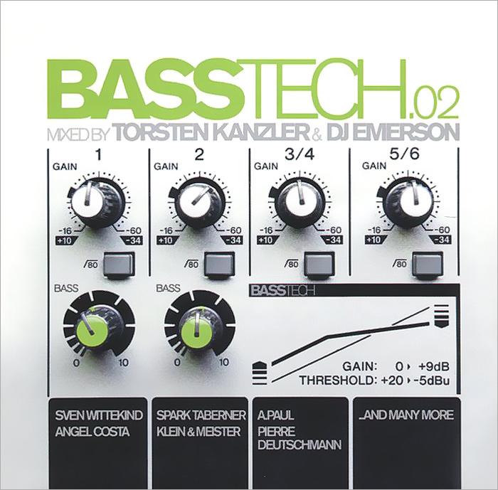 Basstech Vol. 2. Mixed By Torsen Kanzler & DJ Emerson (2 CD) 2012 2 Audio CD