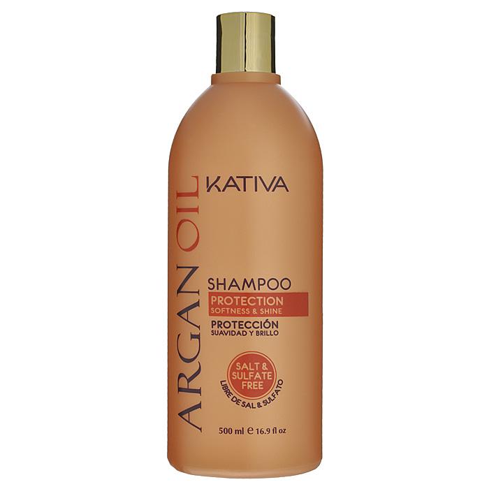Kativa Шампунь Argan Oil для волос, увлажняющий, 500 мл65808402Активные компоненты, входящие в состав шампуня, возвращают волосам силу, увлажняют и разглаживают по всей длине. Шампунь защищает волосы от пересушивания, вызванного влиянием негативных факторов окружающей среды, а также способствует сохранению цвета окрашенных волос. В состав входит аргановое масло, содержащее витамин Е, антиоксиданты и омега 3 и 9, что способствует предотвращению сухости волос, вызванных агрессивной окружающей средой. Увлажняет, питает и придает волосам блеск и гладкость. Продлевает эффект выпрямления и способствует сохранению цвета. Способ применения : равномерно нанесите на влажные волосы, вспеньте и сделайте легкий массаж. Тщательно смойте. При необходимости повторите процедуру.