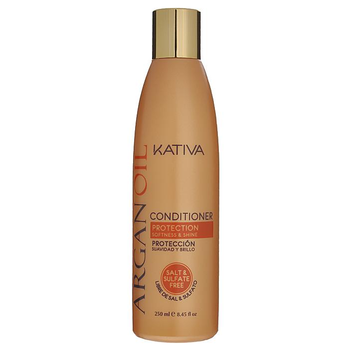 Kativa Кондиционер Argan Oil для волос, увлажняющий, 250 мл65866201Кондиционер увлажняет, питает, придает блеск и шелковистость волосам. Высококачественное аргановое масло насыщает волосы необходимыми витаминами, антиоксидантами и жирными кислотами. Кондиционер способствует лучшему расчесыванию волос, предотвращает их ломкость. В состав входит аргановое масло, содержащее масло Е, антиоксиданты и Омега 3 и 9. Увлажняет, питает и придает волосам блеск и гладкость. Продлевает эффект выпрямления. Способ применения : нанесите на чистые вымытые волосы только по длине, оставьте на 2-3 минуты для лучшего воздействия, а затем тщательно смойте.