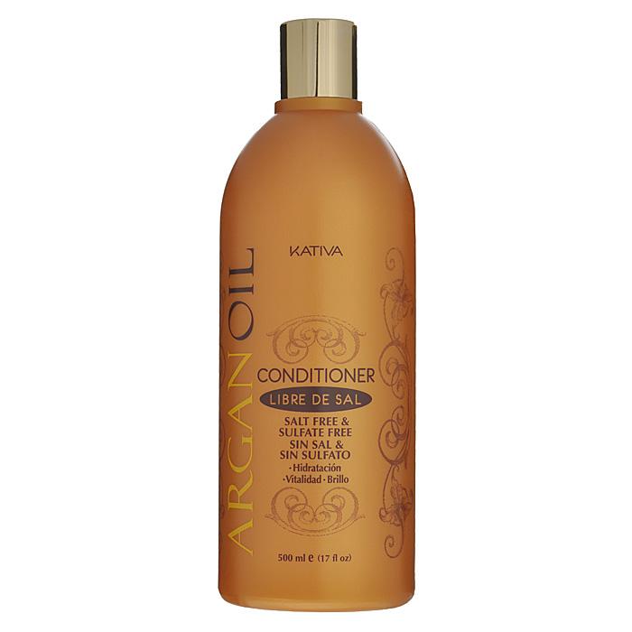 Kativa Кондиционер Argan Oil для волос, увлажняющий, 500 мл65866202Кондиционер увлажняет, питает, придает блеск и шелковистость волосам. Высококачественное аргановое масло насыщает волосы необходимыми витаминами, антиоксидантами и жирными кислотами. Кондиционер способствует лучшему расчесыванию волос, предотвращает их ломкость. В состав входит аргановое масло, содержащее масло Е, антиоксиданты и Омега 3 и 9. Увлажняет, питает и придает волосам блеск и гладкость. Продлевает эффект выпрямления. Способ применения : нанесите на чистые вымытые волосы только по длине, оставьте на 2-3 минуты для лучшего воздействия, а затем тщательно смойте.