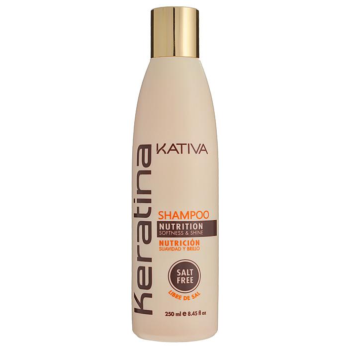 Kativa Шампунь Keratina, укрепляющий, для всех типов волос, 250 мл65808412Роскошный шампунь, богатый кератином, обеспечивает надежную защиту и восстановление окрашенных волос, а также волос, поврежденных механическими или температурными воздействиями. Защищает волосы, предотвращает их ломкость. Шампунь обогащен аргановым маслом и кератином. Увлажняет волосы, оставляет их блестящими и гладкими. Защищает волосы и предотвращает их сухость. Способствует выпрямлению. Укрепляет и восстанавливает волосы после химических воздействий. Не содержит сульфата. Способ применения : равномерно нанесите на влажные волосы, вспеньте и сделайте легкий массаж. Тщательно смойте. При необходимости повторите процедуру.