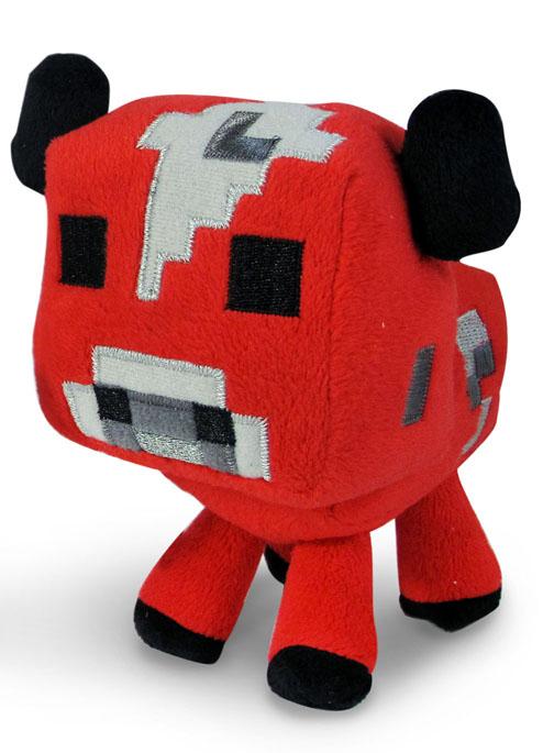 Мягкая игрушка Minecraft Детеныш грибной коровы, цвет: красный, 13 см16528Мягкая игрушка Minecraft Детеныш грибной коровы привлечет внимание каждого, кто ее увидит. Она выполнена из плюша красного цвета в виде Детеныша грибной коровы. Удивительно приятная на ощупь игрушка непременно поднимет настроение своему обладателю и станет замечательным подарком для поклонника популярной инди-игры Minecraft. Minecraft - инди-игра в жанре песочницы с элементами выживания. мир игры полностью состоит из блоков: игрок, ландшафт, предметы, мобы и т.д. Игрок управляет персонажем, который может разрушать и устанавливать блоки, формируя фантастические структуры, здания и художественные работы в одиночку или коллективно с другими игроками в разных игровых режимах.