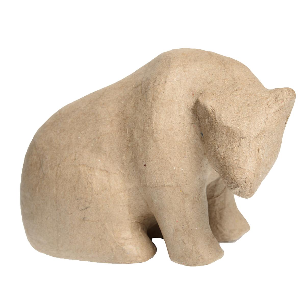 Медведь из папье-маше своими руками