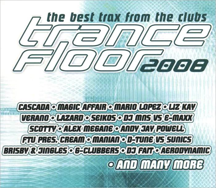 Trance Floor 2008 (2 CD) 2 Audio CD