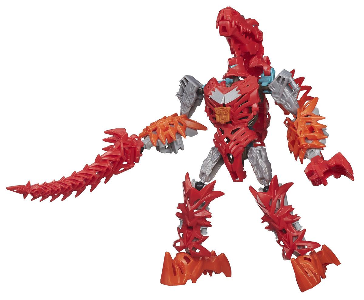 Transformers Констракт-Боты Дино: ScornA6148_3Конструктор Transformers Констракт-Боты Дино: Scorn понравится вашему маленькому поклоннику Трансформеров и не позволит ему скучать. В комплект входят 30 ярких пластиковых элементов, с помощью которых можно собрать фигурку динобота Скорна - персонажа популярных мультсериалов о Трансформерах. Робот может трансформироваться в грозного спинозавра. Ваш ребенок часами будет занят игрой, придумывая разные истории. Порадуйте его таким замечательным подарком! УВАЖАЕМЫЕ КЛИЕНТЫ! Обращаем ваше внимание на возможные незначительные изменения в дизайне упаковки.